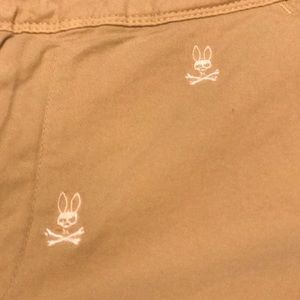 Men's Psycho Bunny shorts khaki size 30